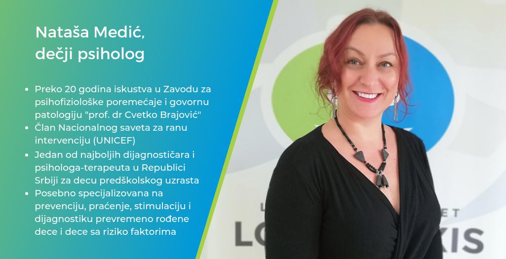 Natasa Medic - decji psiholog Logopraxis Kragujevac